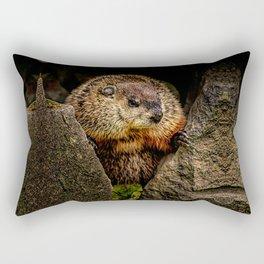 Groundhog Day Rectangular Pillow