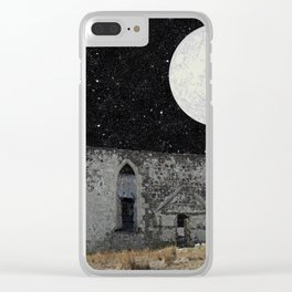 In the cosmic overwhelm Clear iPhone Case