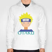 naruto Hoodies featuring Naruto icons by Maha Akl