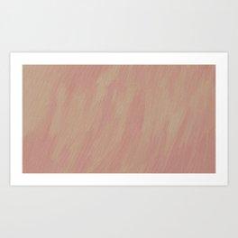 Strawberries and Cream Art Print