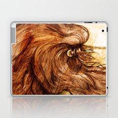 Une Crinière de Lion (the haughty and brilliant lion) Laptop & iPad Skin