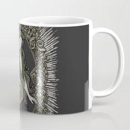 Neo Classic Mermaid Siren Sepia Coffee Mug