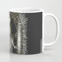 Neo Classic Mermaid Siren Sepia Coffee Mug