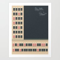 building Art Prints featuring Building by Felipe Chaves Ribeiro