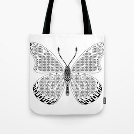 madame butterfly ecopop Tote Bag