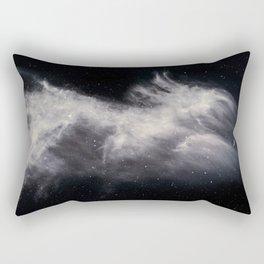 Moon and Clouds Rectangular Pillow