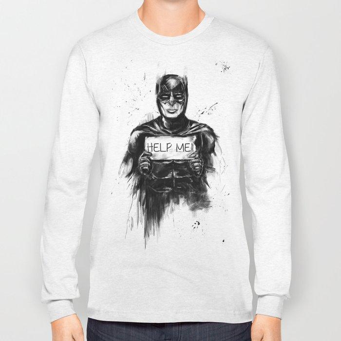 help me! Long Sleeve T-shirt