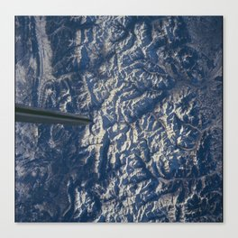 Pyrenees Mountains Canvas Print