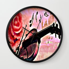 The music of the heart Wall Clock