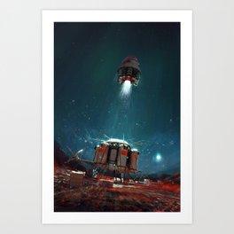 Ambition 1 Ascent Art Print