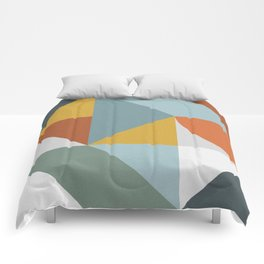 Abstract No. 7 Comforters