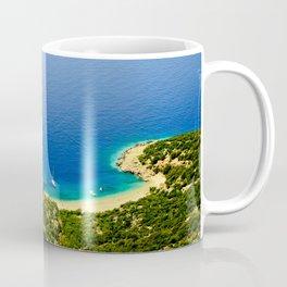 Beautiful beach Lubenice Coffee Mug