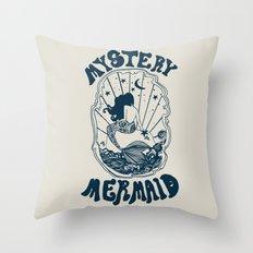 MYSTERY MERMAID Throw Pillow