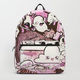 Custom Kawaii Doodle For My Sister Backpack