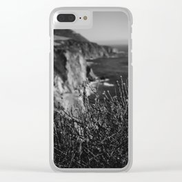 Big Sur Wild Flowers Clear iPhone Case