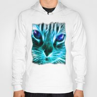 thundercats Hoodies featuring Lightining Cat by Augustinet
