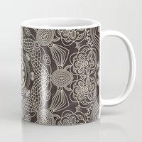 spiritual Mugs featuring Spiritual Mantra by Diego Tirigall