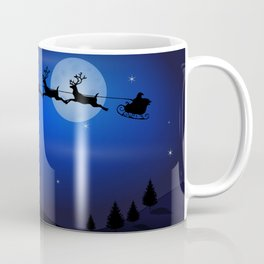Santa's sleigh ride Coffee Mug