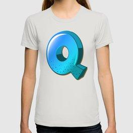 Letter Q T-shirt