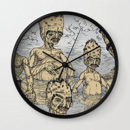 Adam's ale Wall Clock