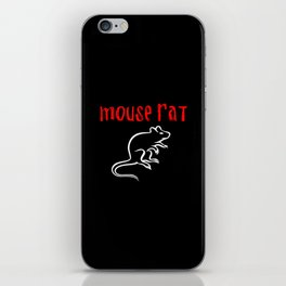 mouse rat iPhone Skin