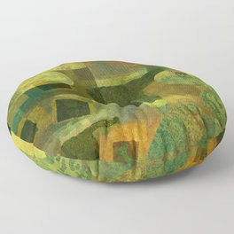 Dorado Verdiso and Butterfly Floor Pillow