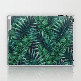Palm and Banana Leaf Tropical Pattern Laptop & iPad Skin
