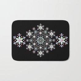 Snowflake Mandala Bath Mat