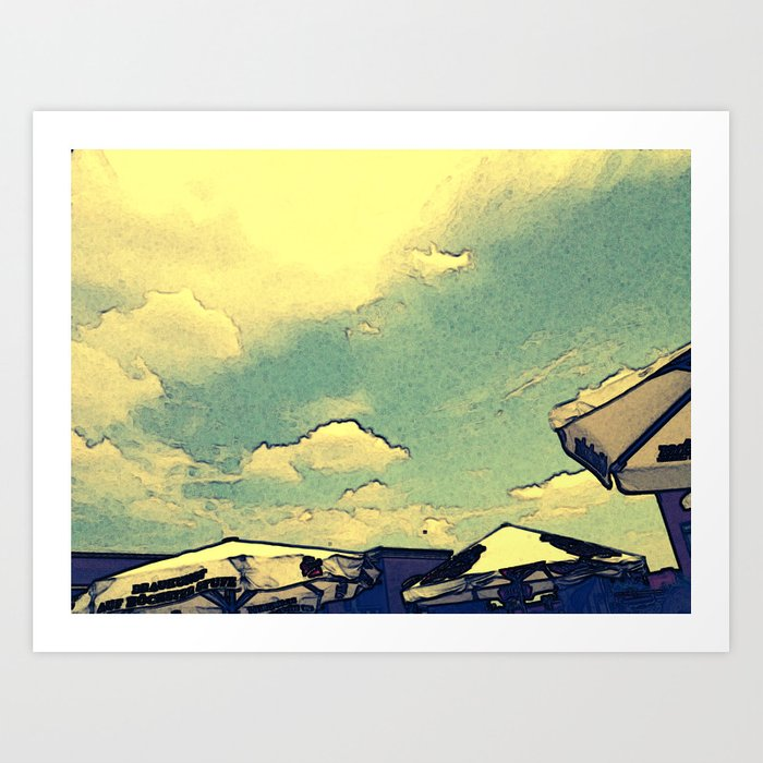 The Summer Billow Art Print