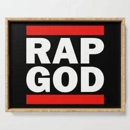 RAP GOD Serving Tray