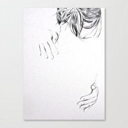Faintness of Being Canvas Print