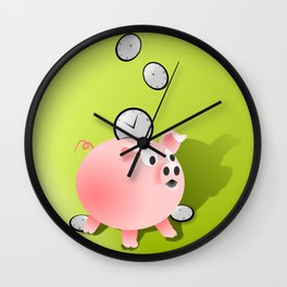 Saving time Wall Clock