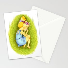 Animal Crossing: Queen Isabelle  Stationery Cards