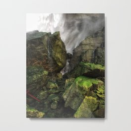 Niagara moss Metal Print