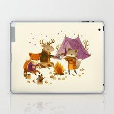 Critters: Fall Camping Laptop & iPad Skin