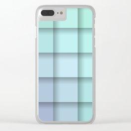 Crisp Spring Pastel Morning Clear iPhone Case