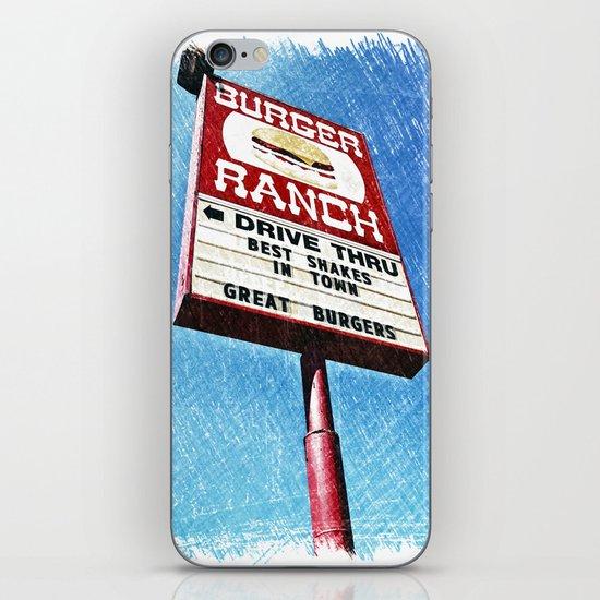 The Burger Ranch iPhone & iPod Skin