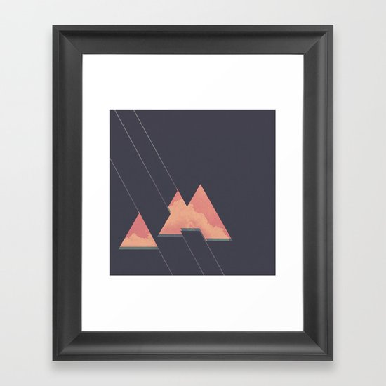 Hot Slice Framed Art Print