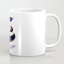 Watercolor feathers painting Coffee Mug