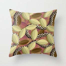Snakebite Throw Pillow