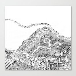 Sedemantarian Canvas Print
