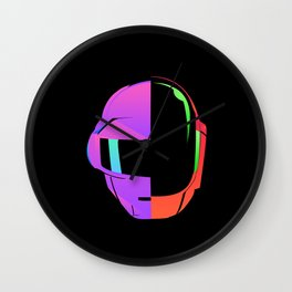 Daft Punk iOS 7 Wall Clock