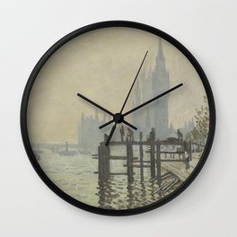Claude Monet - The Thames Below Westminster Wall Clock