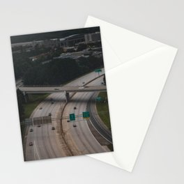 Over the over pass Stationery Cards