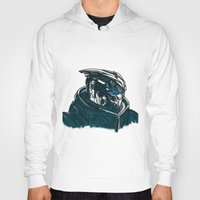 garrus Hoodies featuring Garrus by Cat Milchard