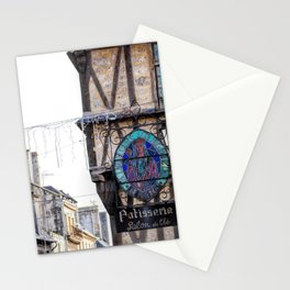 Patisserie en Bayeux Stationery Cards
