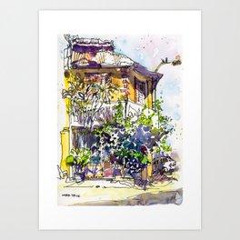 20160110 Sinhalese Bar USK Ipoh Art Print