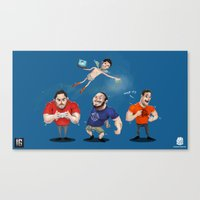 inside gaming Canvas Prints featuring Inside Gaming  by Haizeel Hashnan