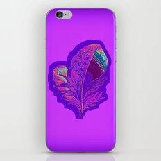Lee's Purple Feather iPhone & iPod Skin