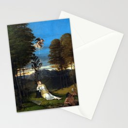 Lorenzo Lotto Allegory of Chastity Stationery Cards